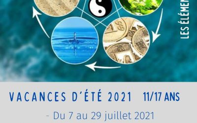 Vacances d'été 2021 – 11/17 ans