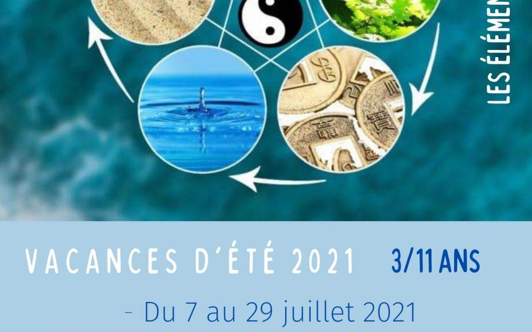 Vacances d'été 2021 accueils de loisirs 3/11 ans